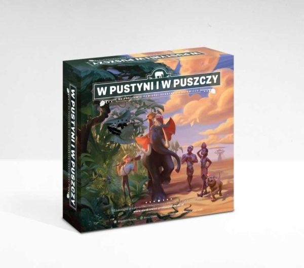 Gra planszowa W pustyni i w puszczy na podstawie powieści Henryka Sienkiewicza